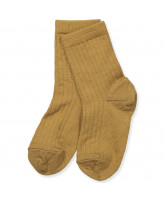 Bronze wool socks