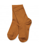 Honey wool socks
