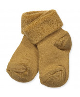 Bronze wool baby socks