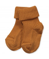 Honey wool baby socks