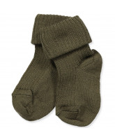 Army wool baby socks