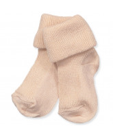 Rose wool/silk socks