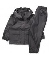 Anthracite rubber rain set