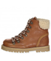 Cognac tex winter boots