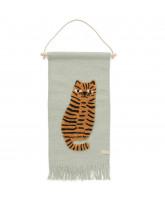 Tiger wall-rug