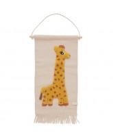 Giraffe wall-rug