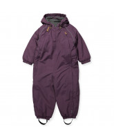 Purple snow suit