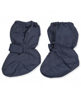 Navy baby snow boots