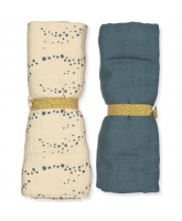 2 pack organic swaddle