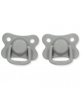 2 pack dark grey dummies +6 months