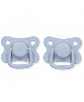 2 pack powder blue dummies +6 months
