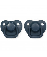 2 pack dark blue dummies 0-6 months
