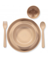 Bamboo dinner set in giftbox - junior