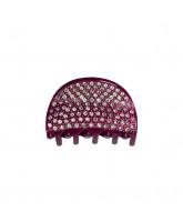 Bordeaux hair clip