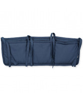 Organic midnight storage for bed