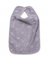 Organic light lavender bib