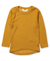 Curry wool LS t-shirt