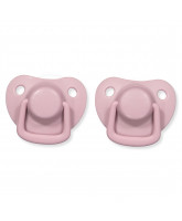 2 pack dusty rose dummies 0-6 months