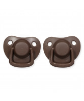 2 pack chocolate dummies 0-6 months