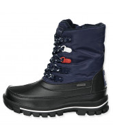 Navy winter boots