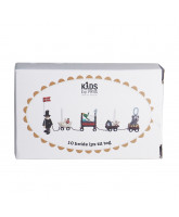 10 pack candles for birtday train - white