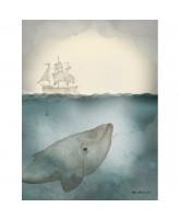 Ocean mini print - 18x24 cm