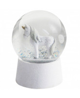 Snowglobe with music - Unicorn
