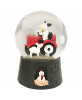 Snowglobe with music - Farm