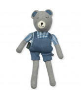 Teddy the blue bear
