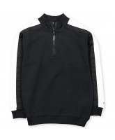 Organic zip sweat