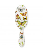 Hairbrush w. butterflies - large