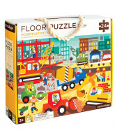 Floor puzzle - Construction