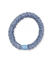 Kknekki velvet hair elastic - light blue
