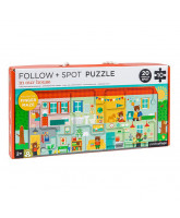 Follow puzzle - house