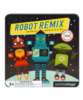 Mix & Match magnetic robots