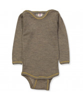 Wool silk bodysuit