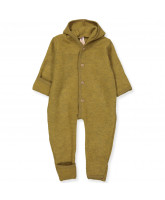 Organic wool fleece playsuit