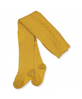 Mustard non-slip tights
