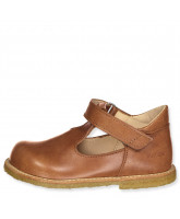 Light brown Mary Janes