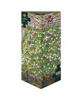 Crazy World Cup puzzle 4000 pcs