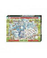 Polar Habitat puzzle - 1000 pcs