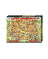 African Habitat puzzle - 1000 pcs