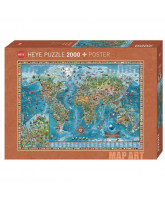 Amazing World puzzle - 2000 pcs