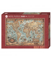 The World puzzle - 2000 pcs