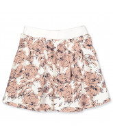 Big flowers skirt