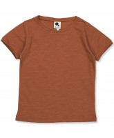 Dark caramel t-shirt