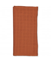 Rust muslin cloth