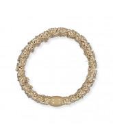 Kknekki Lace hair elastic - beige glitter