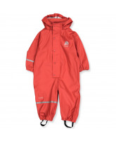 Red PU rainsuit