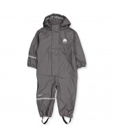 Grey PU rainsuit